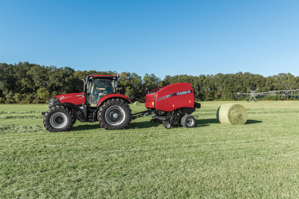 Case IH Farm | Round Balers | Model RB455 Premium Round Baler for sale at American Falls, Blackfoot, Idaho Falls, Rexburg, Rupert, Idaho