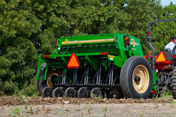 Great Plains | Compact Drills | 7' End Wheel No-Till Compact Drill for sale at American Falls, Blackfoot, Idaho Falls, Rexburg, Rupert, Idaho