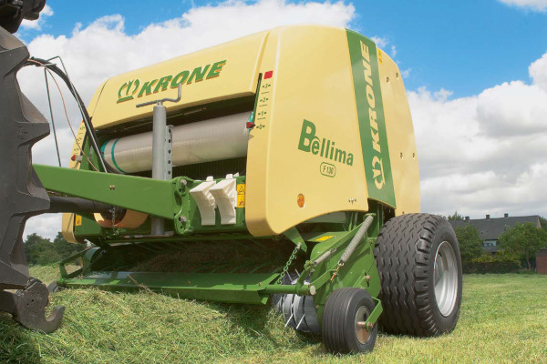 Krone Hay & Forage | Bellima Round Balers | Model Bellima F 130 for sale at American Falls, Blackfoot, Idaho Falls, Rexburg, Rupert, Idaho