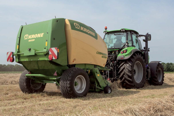 Krone Hay & Forage | Comprima Round Balers | Model Comprima F 125 XC for sale at American Falls, Blackfoot, Idaho Falls, Rexburg, Rupert, Idaho