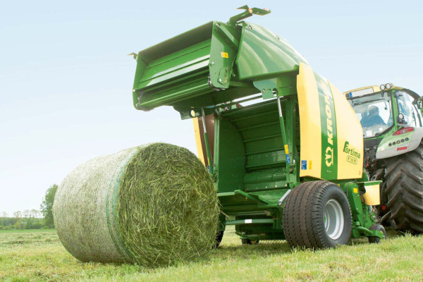 Krone Hay & Forage | Fortima Round Balers | Model Fortima F 1250 MC for sale at American Falls, Blackfoot, Idaho Falls, Rexburg, Rupert, Idaho