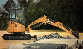 Case CE Mini Excavators To Perform Landscaping, Utility