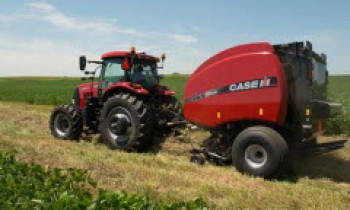 Case IH Baler Machines For Forming Different sizes Of Bales